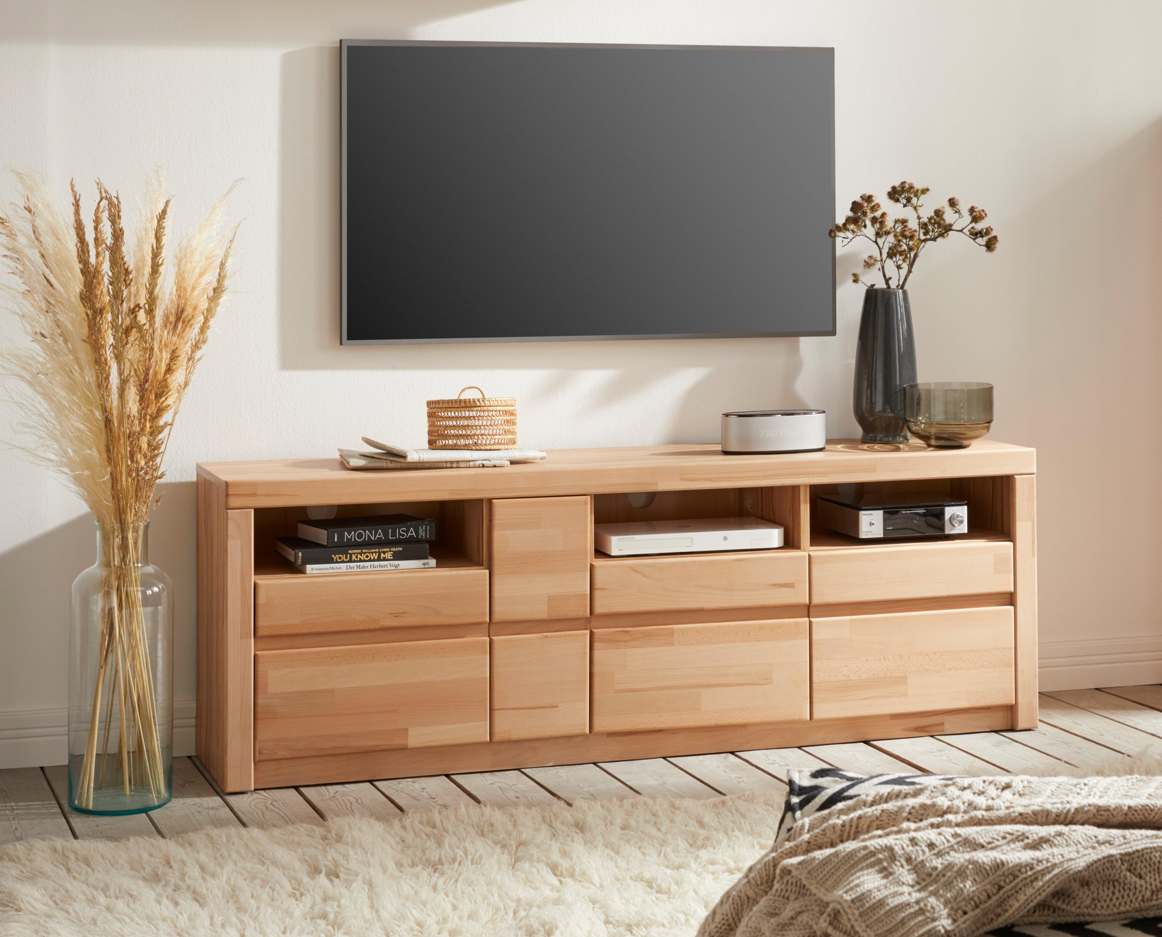Woltra tv-meubel Silkeborg Breedte 160 cm nu online kopen bij OTTO