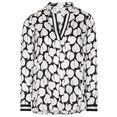 eterna blouse zonder sluiting 1863 by eterna - premium lange mouwen zwart