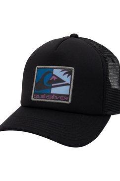 quiksilver trucker-cap »standardize« zwart