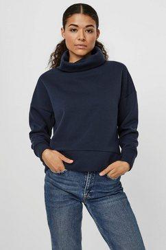 vero moda sweatshirt vmmillie blauw