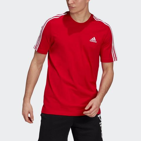 adidas Performance T-shirt ESSENTIALS 3-STREIFEN