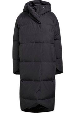 adidas performance outdoorjack big baffle down coat zwart