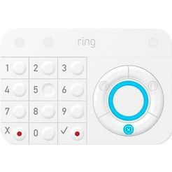 ring »alarm keypad« button wit