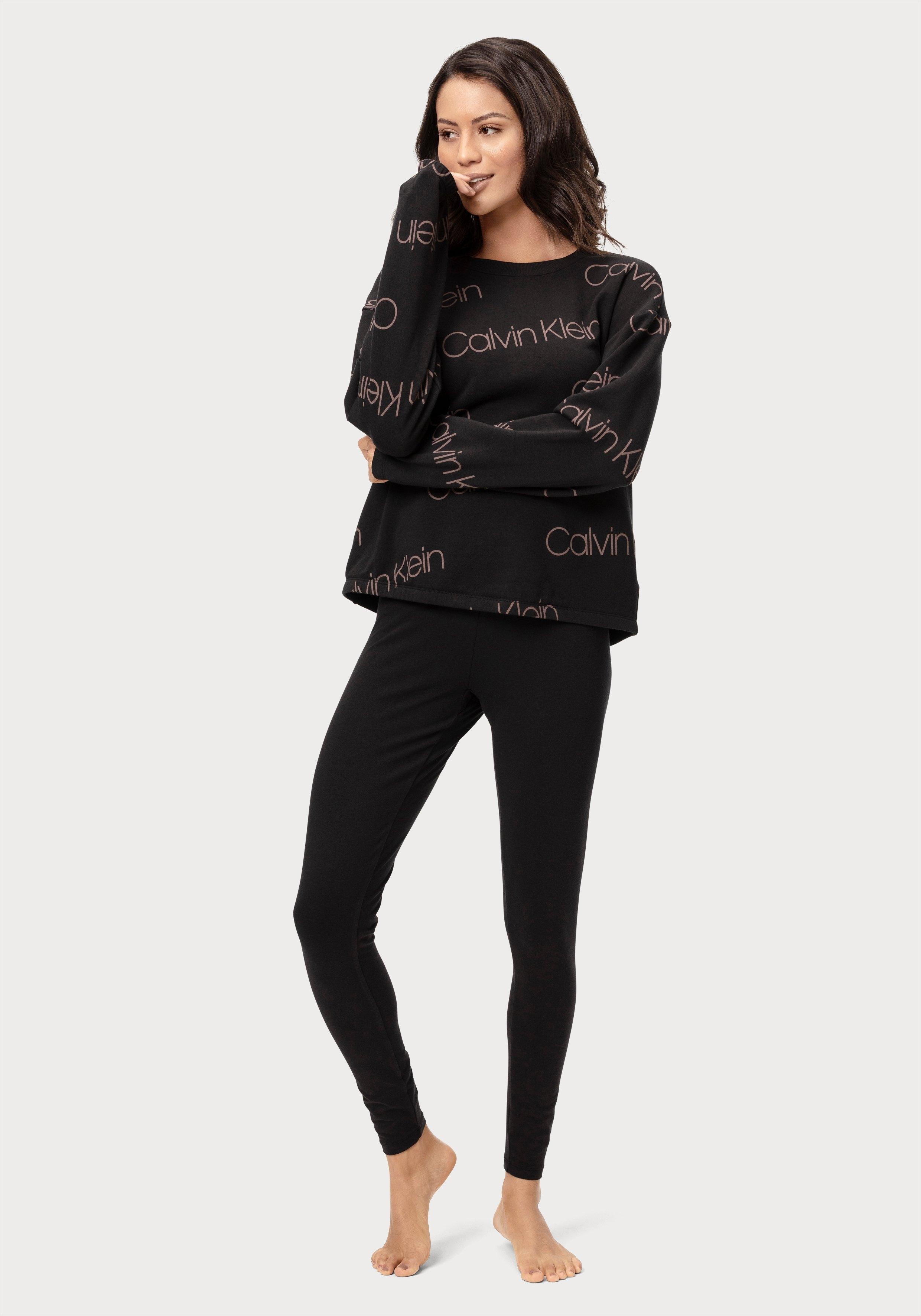 Calvin Klein legging met opgestikte zak en ingeweven logo in de band bij OTTO online kopen