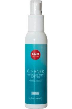 fun factory toy-schoonmaakmiddel cleaner goud