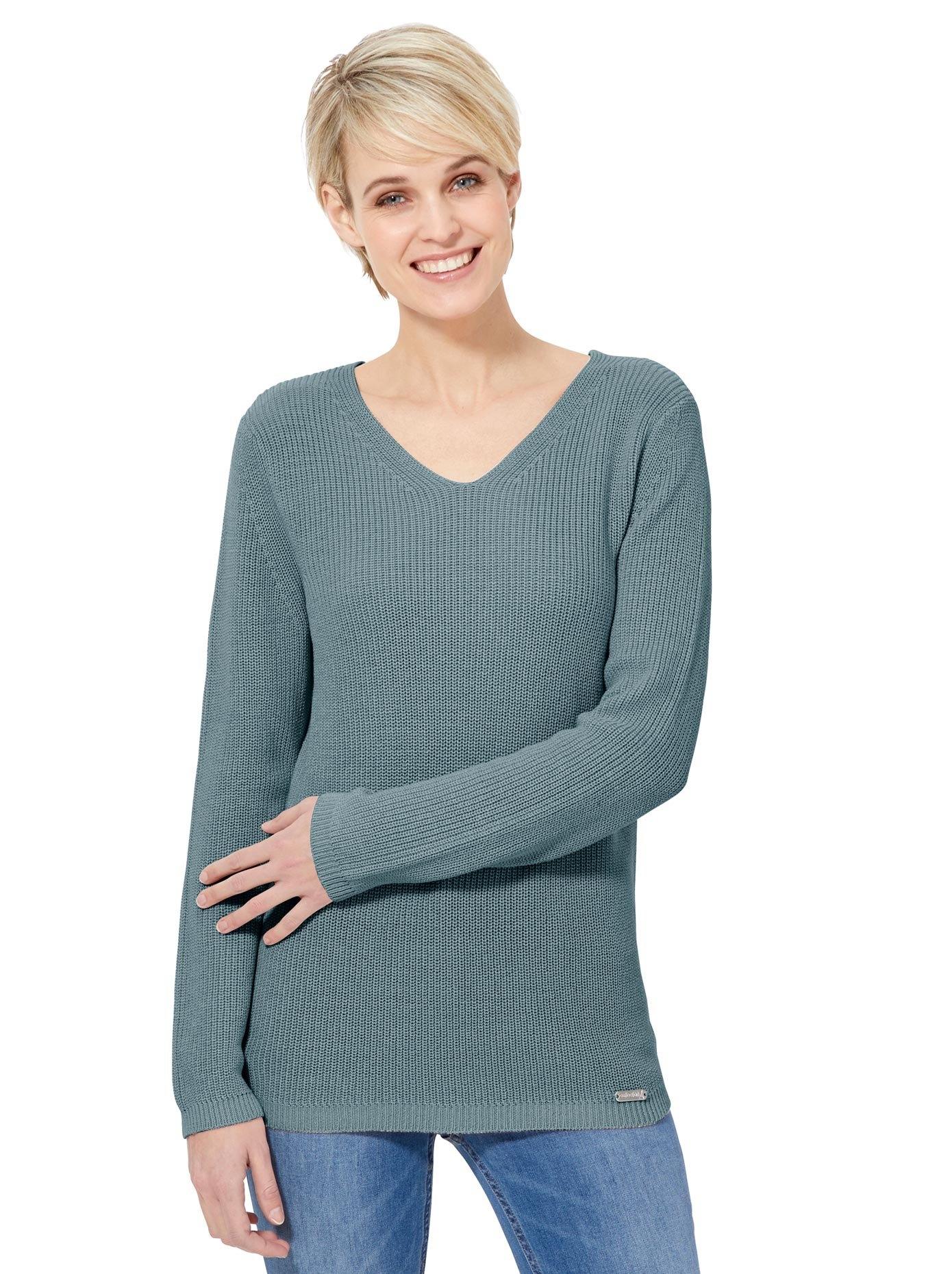 Casual Looks trui met V-hals in de webshop van OTTO kopen