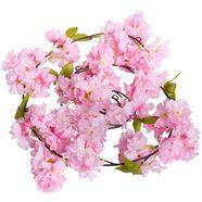 botanic-haus kunstbloem kirschbluetengirlande (1 stuk) roze