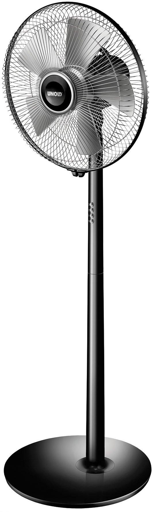 Unold staande ventilator Silverline Black 86825 bij OTTO online kopen