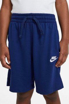 nike sportswear short nike sportswear big kids' boys blauw