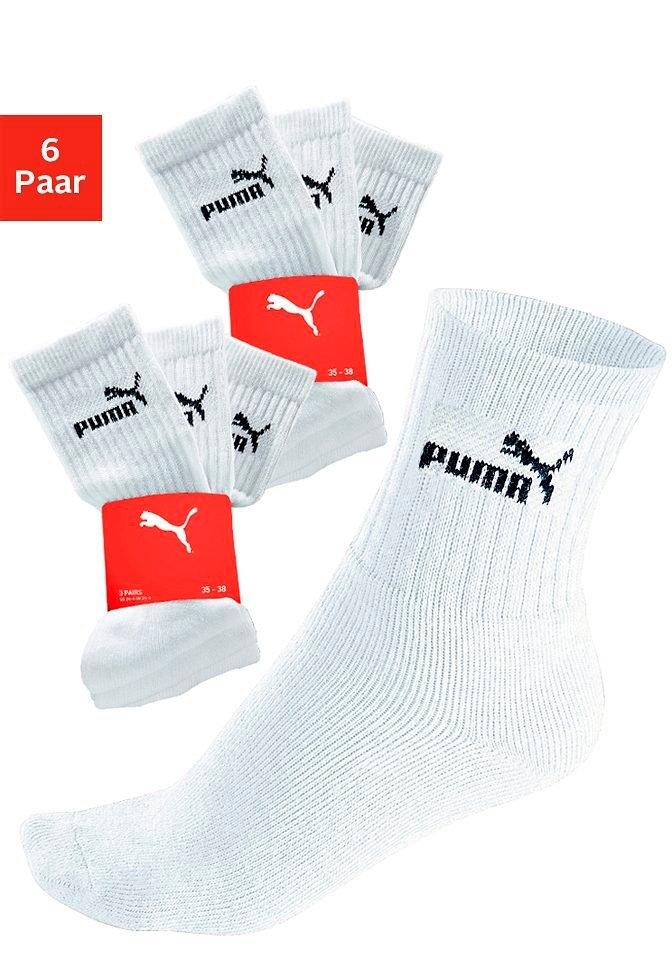 PUMA Sportsokken, set van 3 paar bij OTTO online kopen