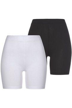 tamaris fietsbroekje om ergens onder te dragen onder jurken en rokken (set van 2) zwart