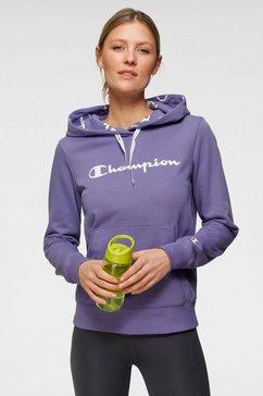 champion hoodie hooded sweatshirt paars