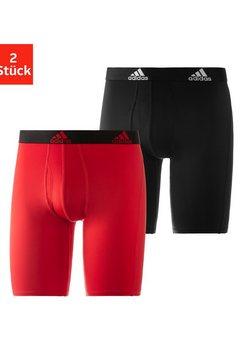 adidas performance functionele boxershort met langere pijpen (2 stuks) zwart