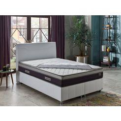 i̇sti̇kbal bonell-binnenveringsmatras new sleepwell energy hoogwaardige, afneembare bekledingslaag - aan beide kanten te gebruiken hoogte 27 cm wit