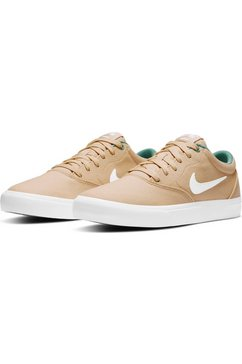 nike sb sneakers »charge solarsoft textile skate« beige