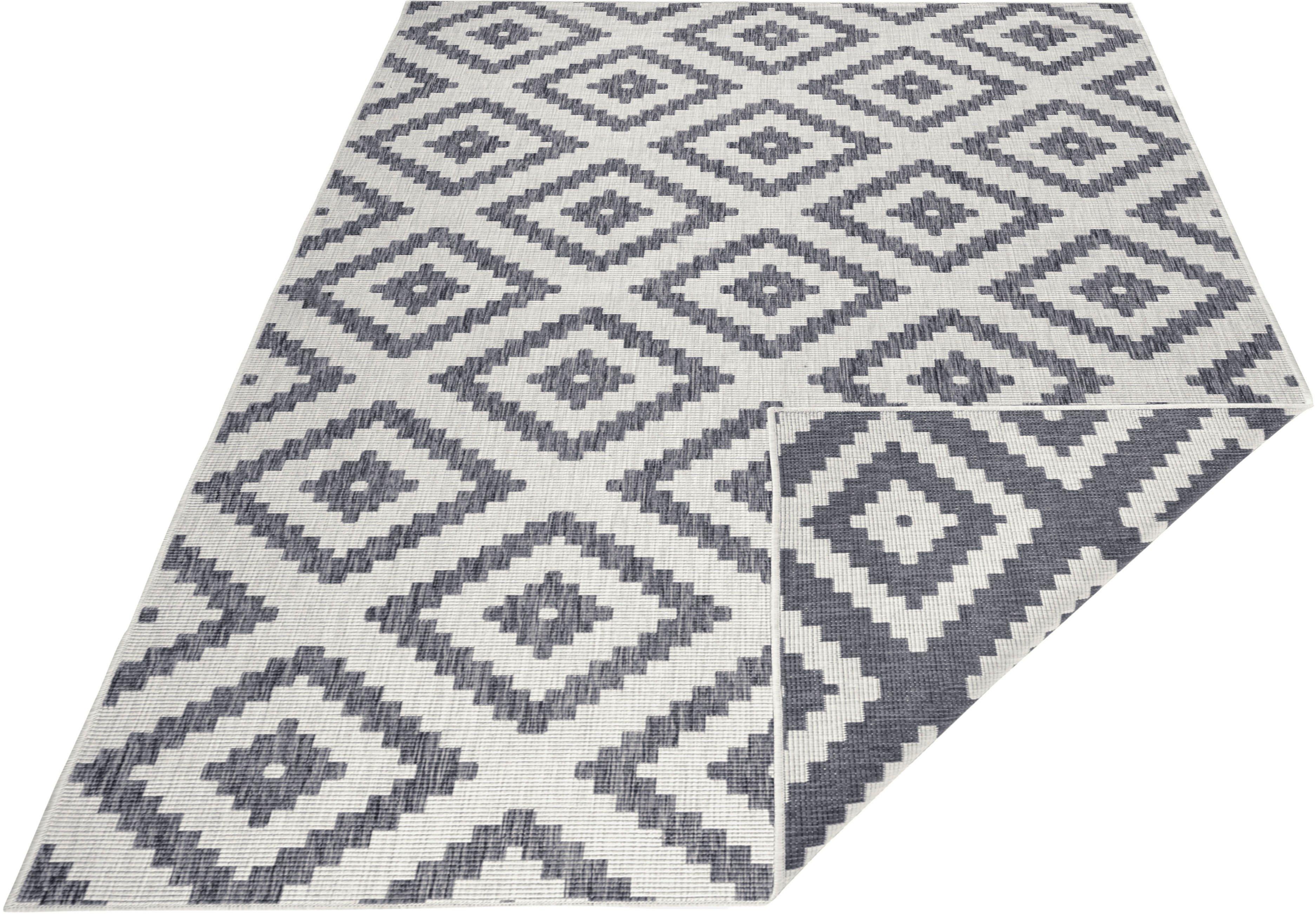 bougari Vloerkleed, »Malta«, rechthoekig, hoogte 5 mm, machinaal geweven goedkoop op otto.nl kopen