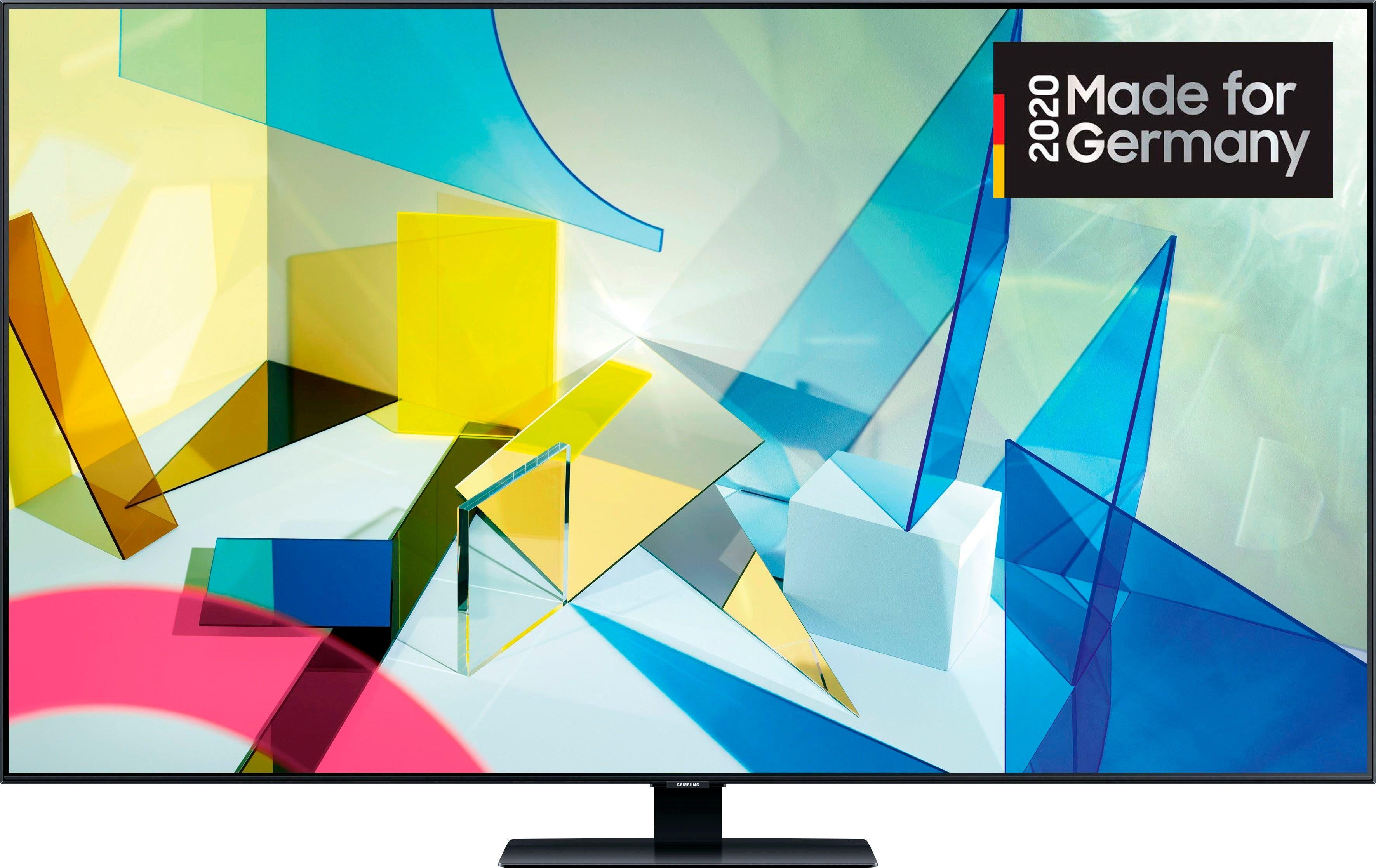 SAMSUNG GQ75Q80T QLED-televisie (189 cm / (75 Inch), 4K Ultra HD, Smart-TV - verschillende betaalmethodes