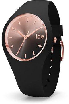 ice-watch kwartshorloge »ice sunset- black - medium, 015748« zwart
