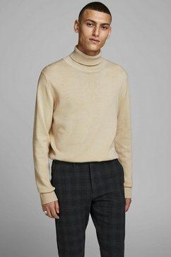 jack  jones coltrui emil knit roll bruin