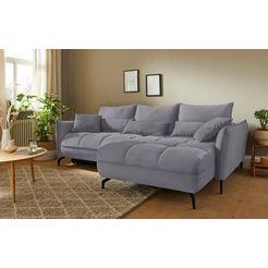mr. couch hoekbank lenny 5 jaar fabrieksgarantie op koudschuimvulling, duurzaamheid, exclusieve collectie grijs