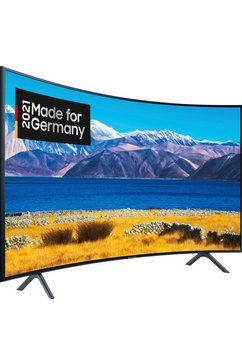 "samsung curved led-tv gu65tu8379u, 163 cm - 65 "", 4k ultra hd, smart-tv zwart"