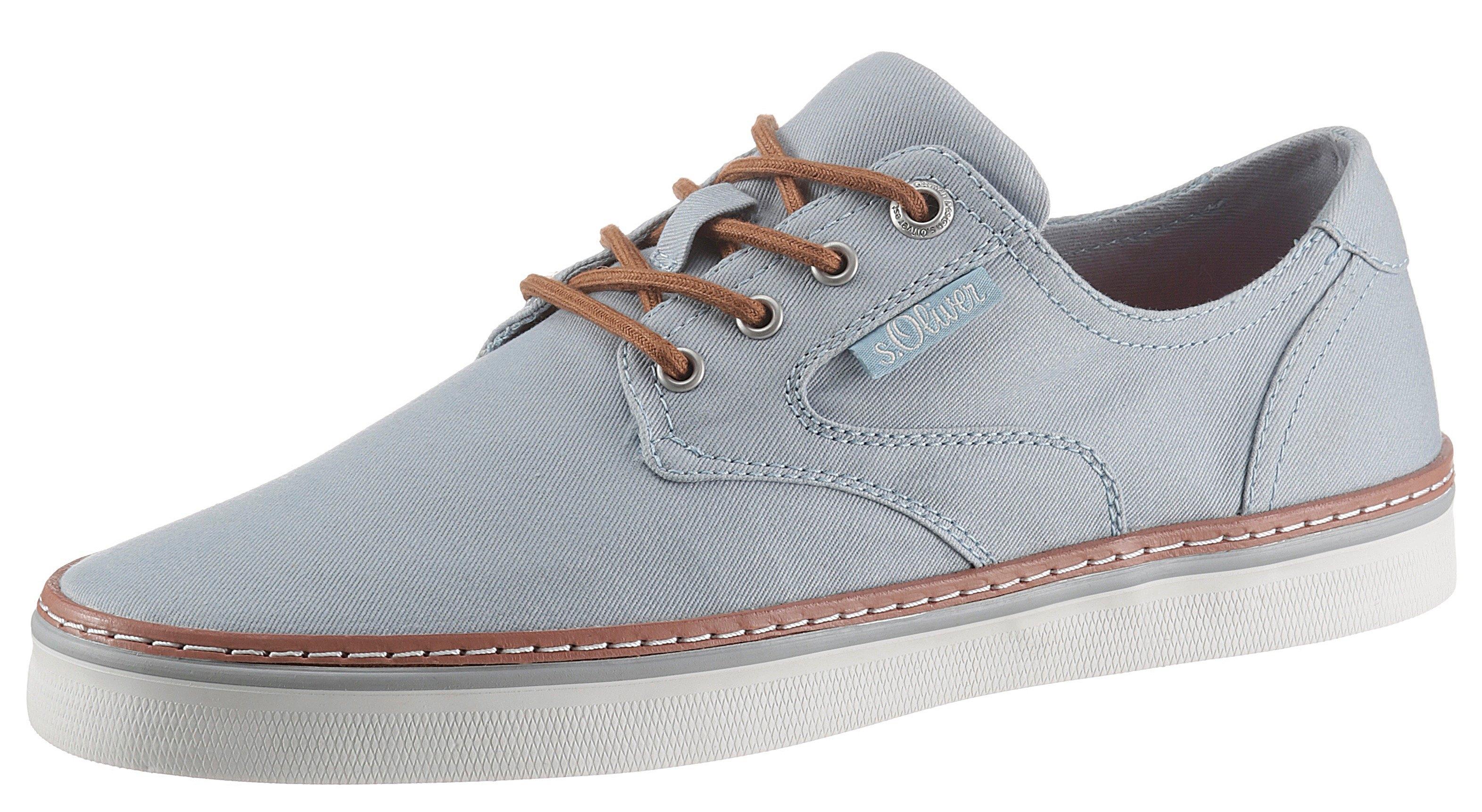 s.Oliver sneakers met contrast-doorstiknaad bij OTTO online kopen