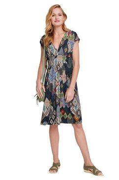 linea tesini by heine gedessineerde jurk multicolor