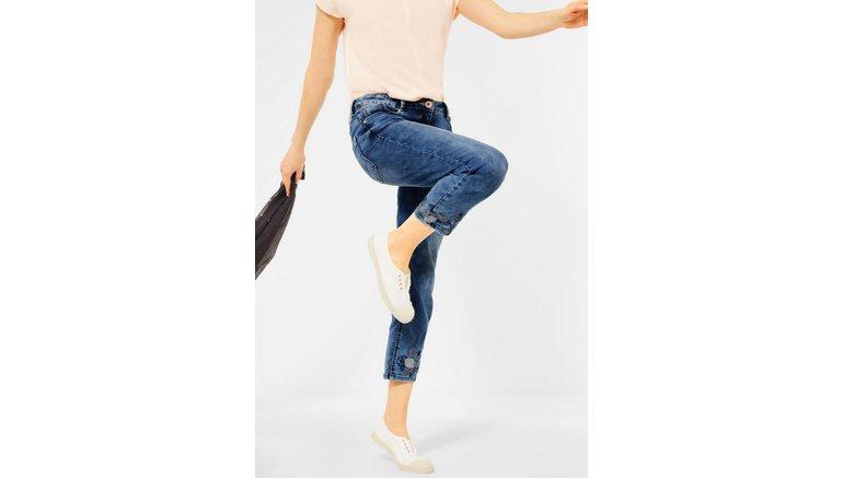 Cecil 7/8 jeans vormvaste materialenmix