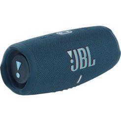 jbl bluetoothluidspreker charge 5 portabler waterdicht blauw