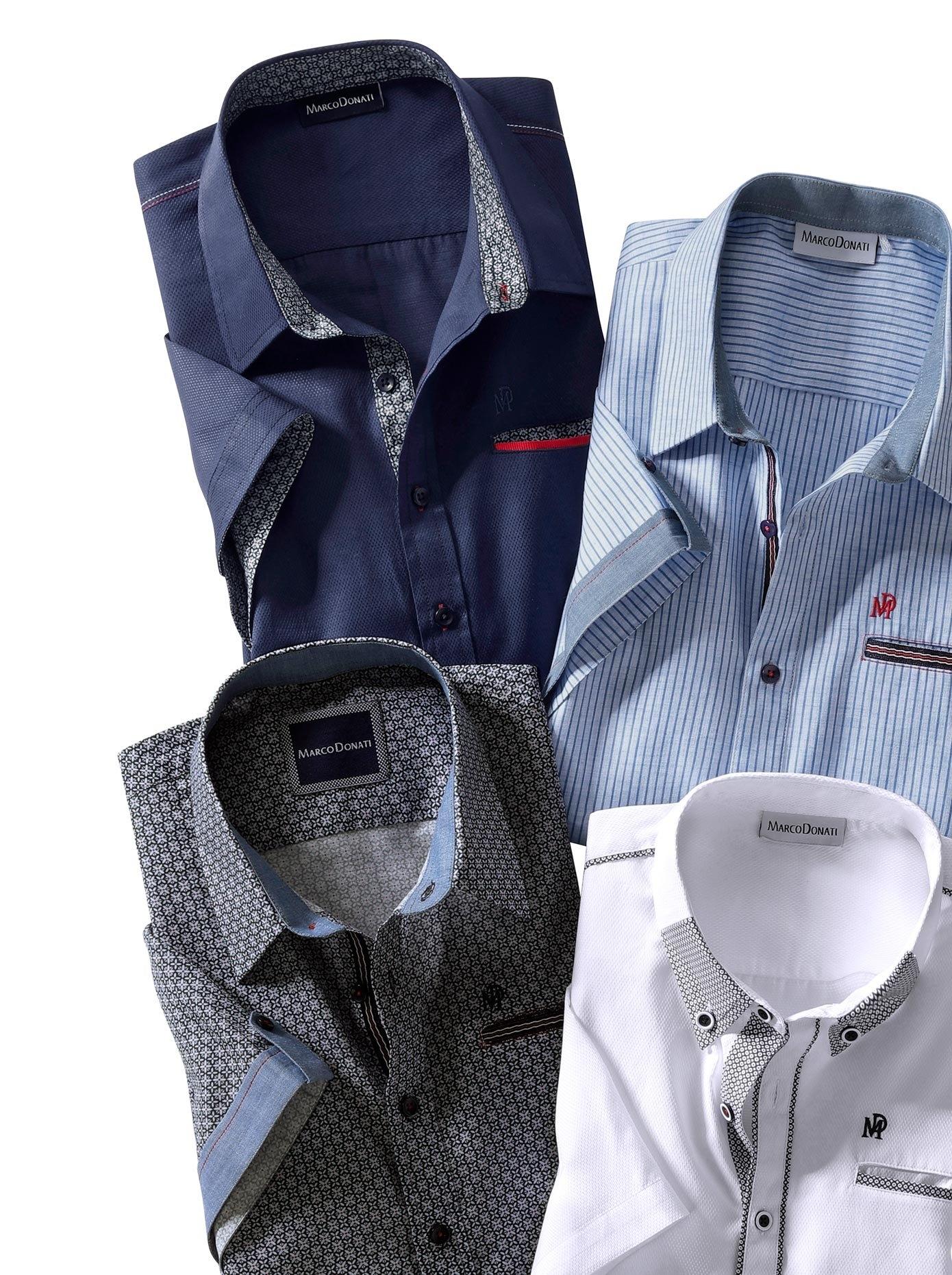 Marco Donati overhemd met korte mouwen in de webshop van OTTO kopen