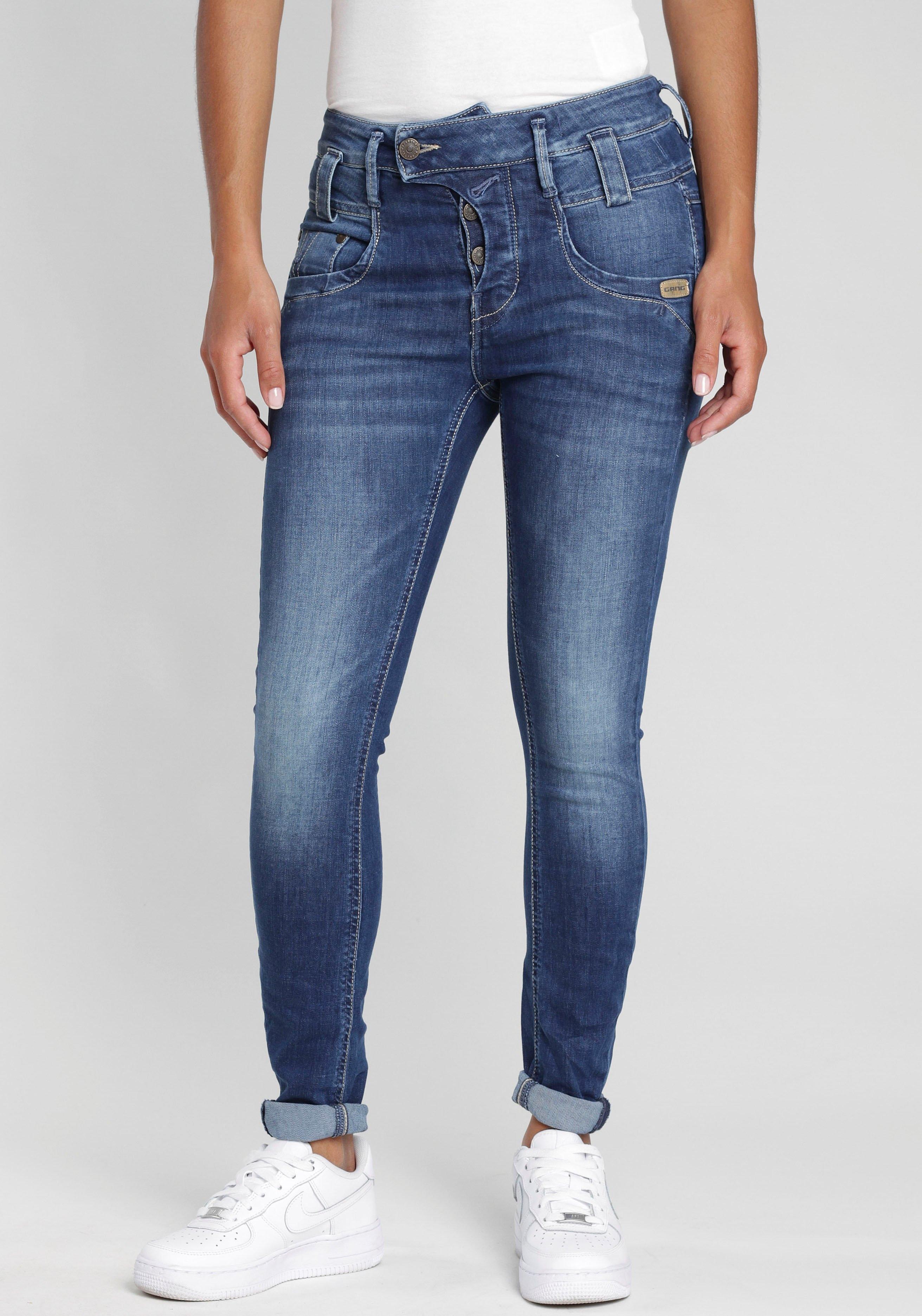 GANG skinny fit jeans »Marge« goedkoop op otto.nl kopen