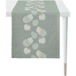 apelt tafelloper 2717 loft style, jacquard (1 stuk) groen