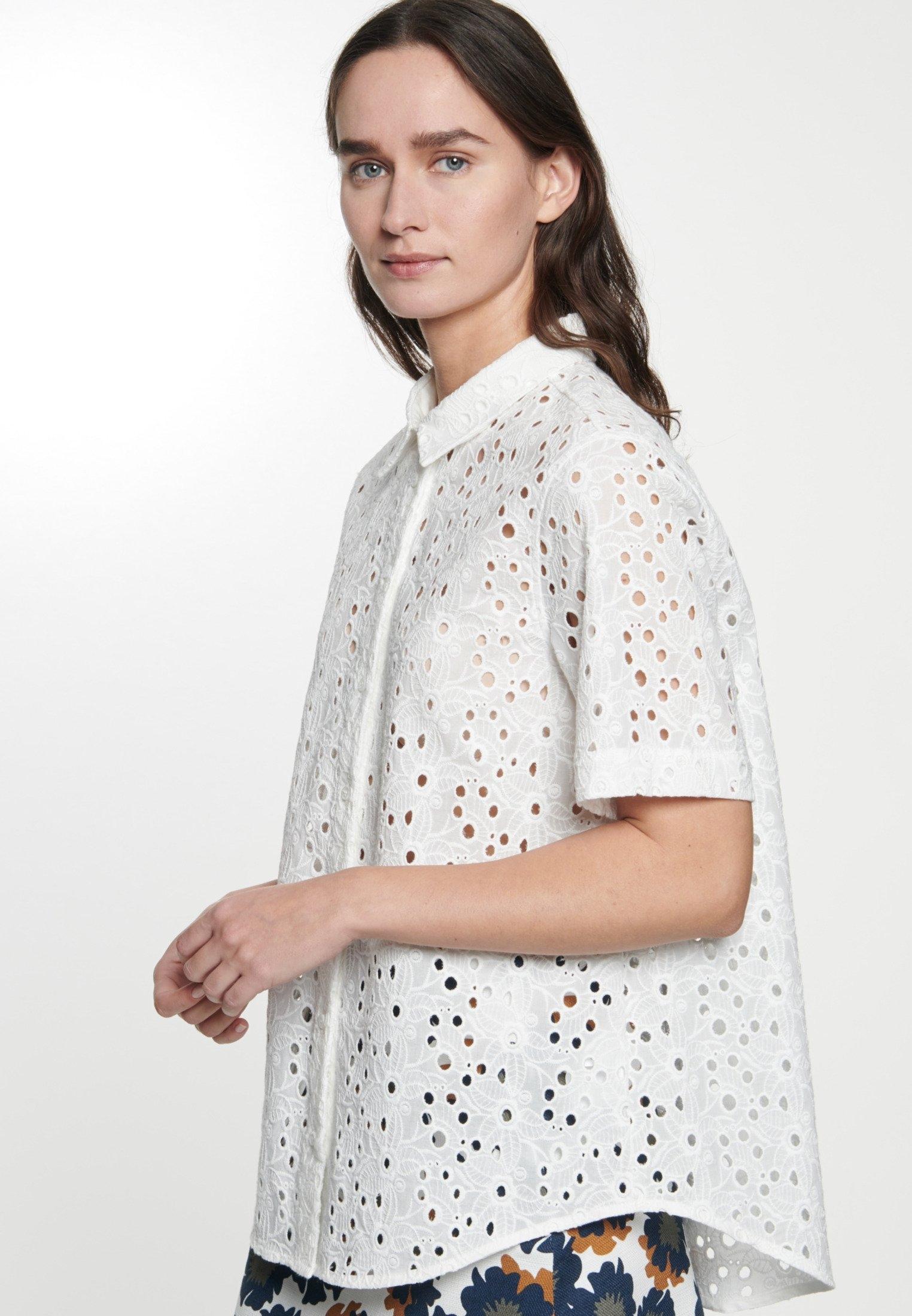 seidensticker overhemdblouse »Schwarze Rose« in de webshop van OTTO kopen