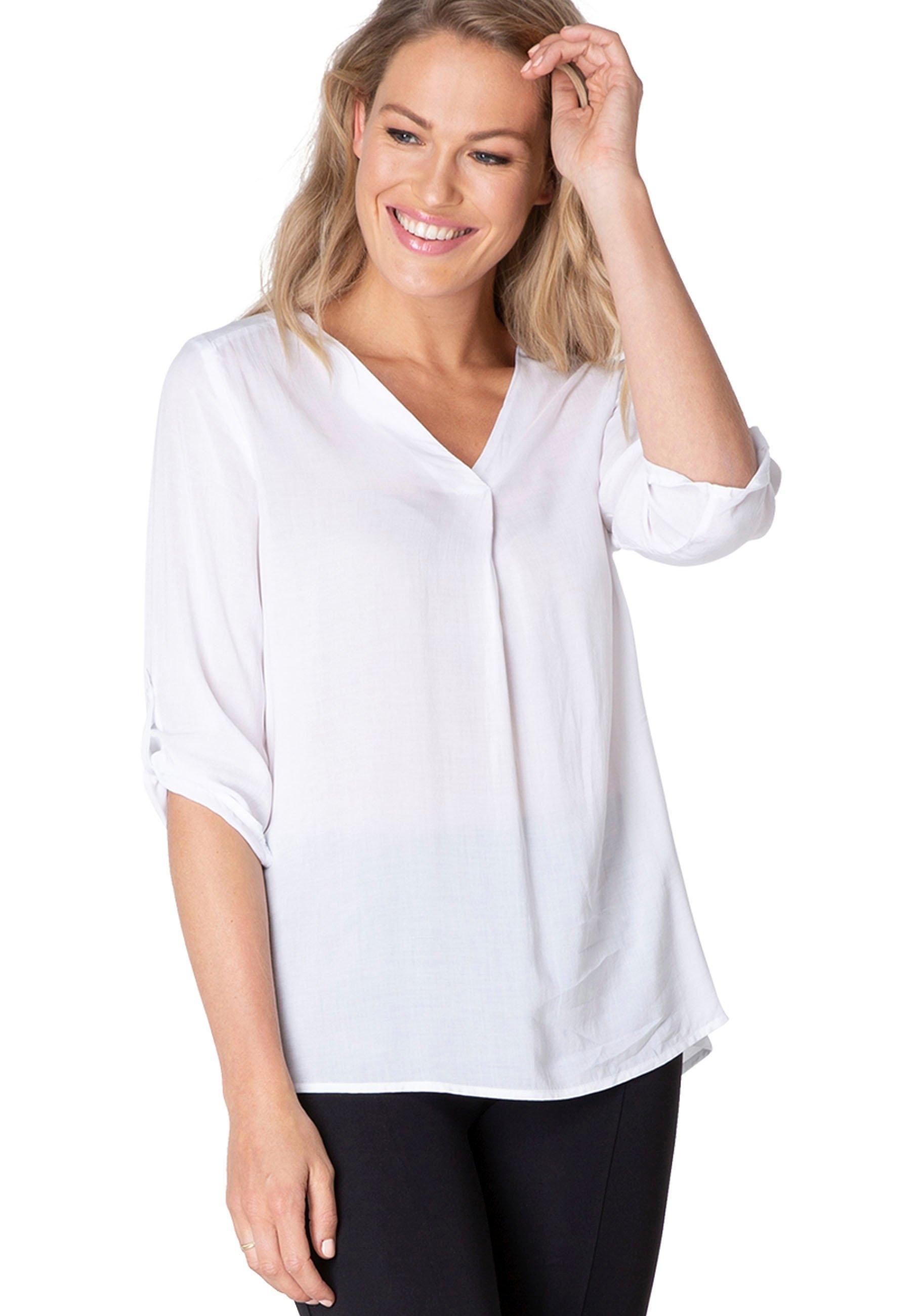 BSIC by Yest blouse zonder sluiting Yill Ruimvallend model in soepelvallende viscosekwaliteit goedkoop op otto.nl kopen