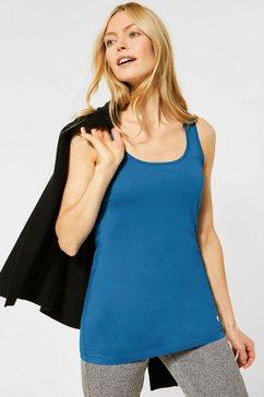 cecil lang shirt blauw