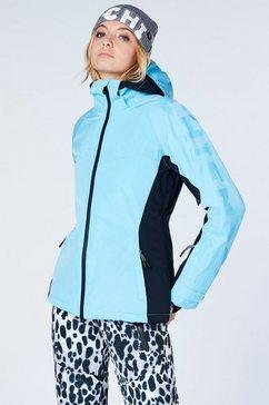 chiemsee ski-jack blauw