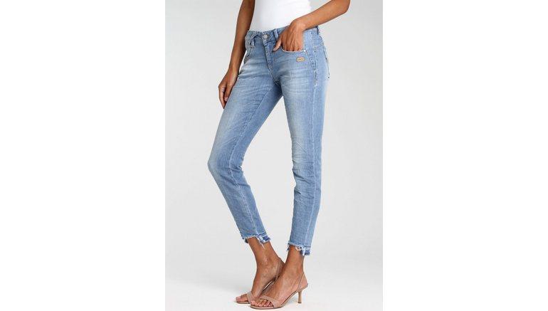 GANG ankle jeans NELE X-CROPPED Katoen-stretch denim voor meer draagcomfort