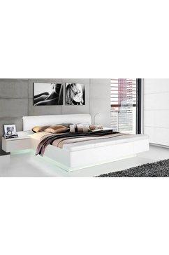 forte ledikant starlet plus inclusief bedbank met opbergruimte wit