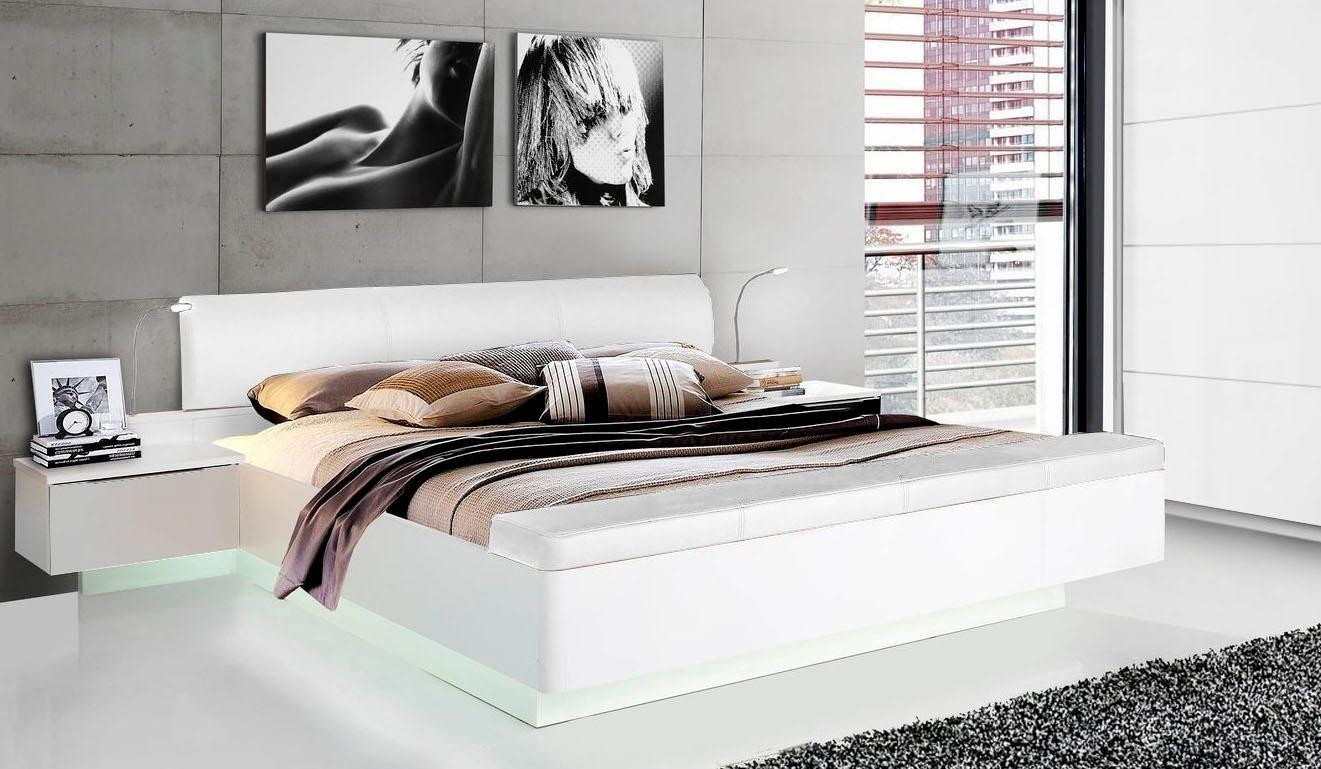 Forte ledikant »Starlet Plus« inclusief slaapkamerbankje met bergruimte nu online kopen bij OTTO