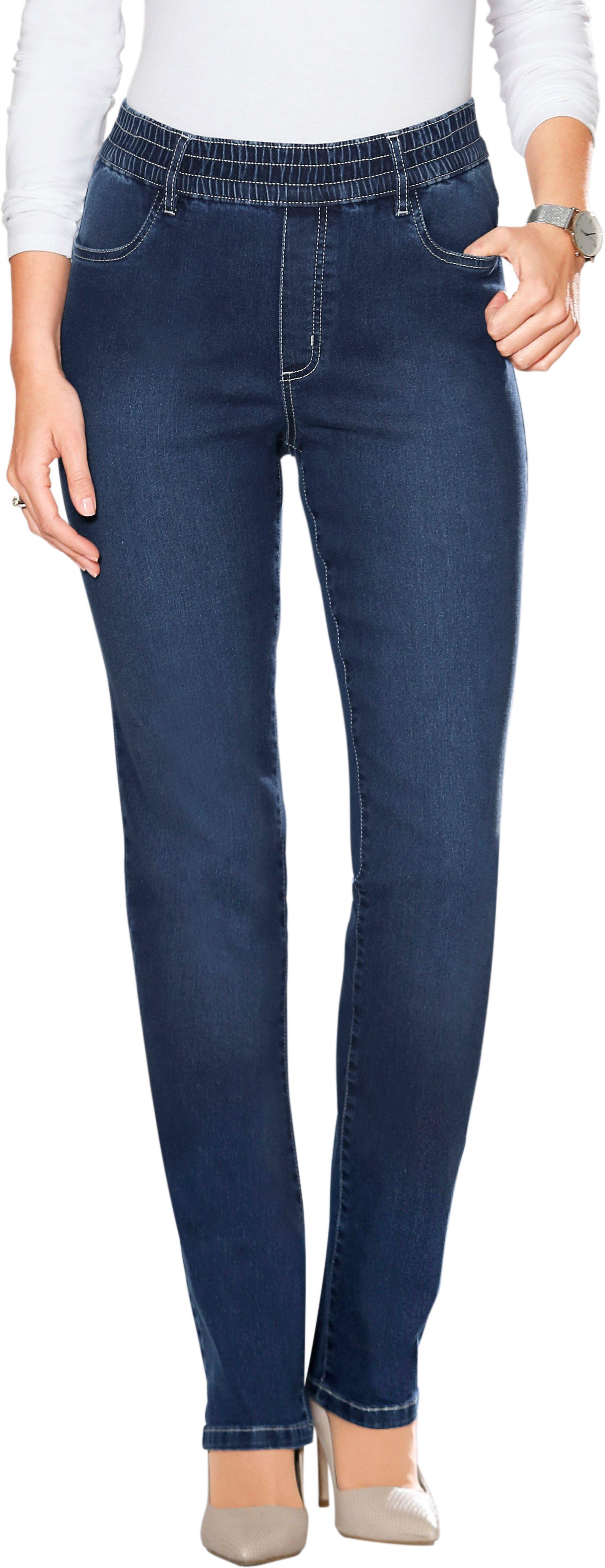 Classic Basics jeans met elastische band rondom veilig op otto.nl kopen