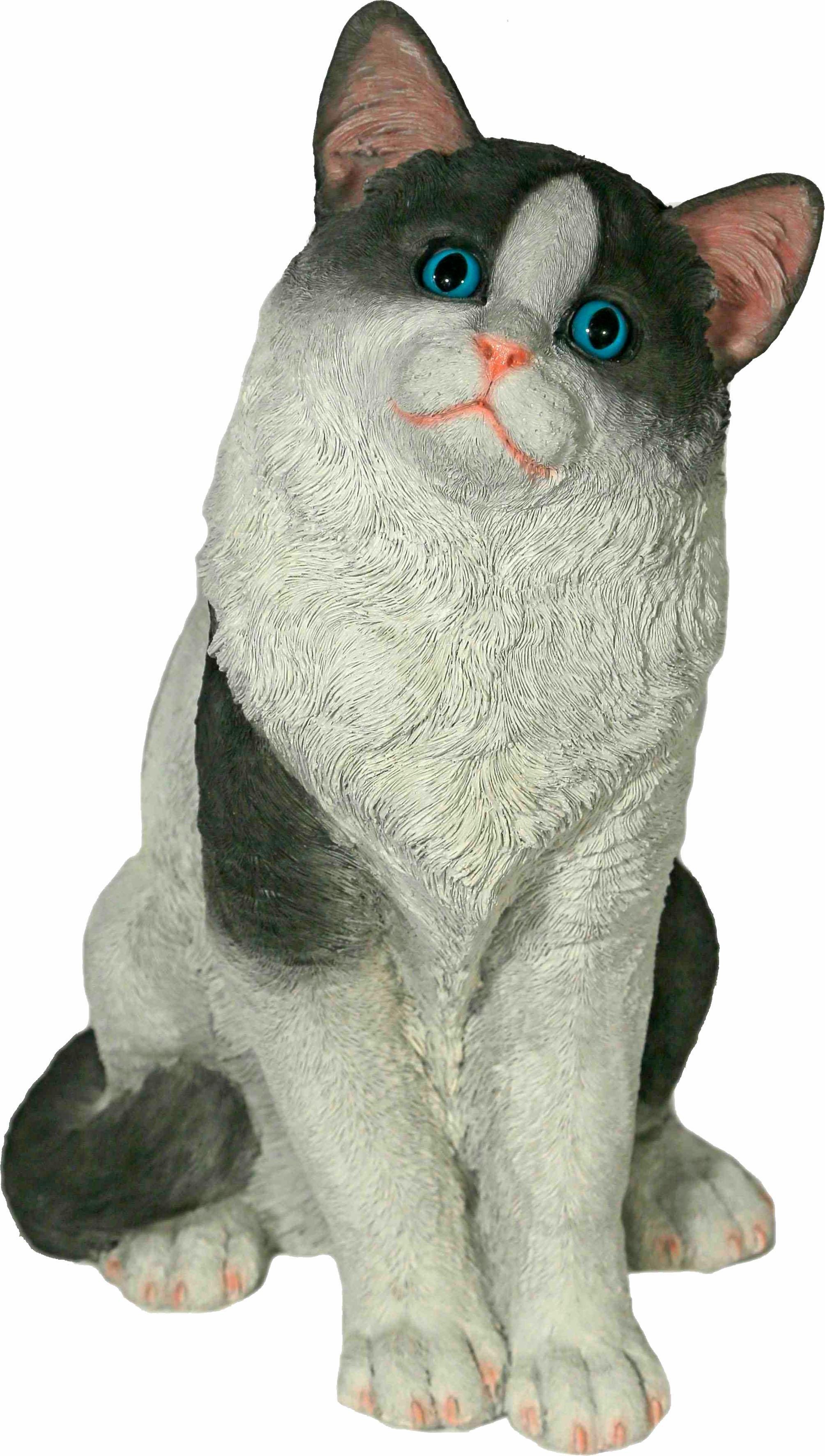 Casa Collection by Jänig dierfiguur Kat zittend, zwart/wit, hoogte: 38 cm online kopen op otto.nl