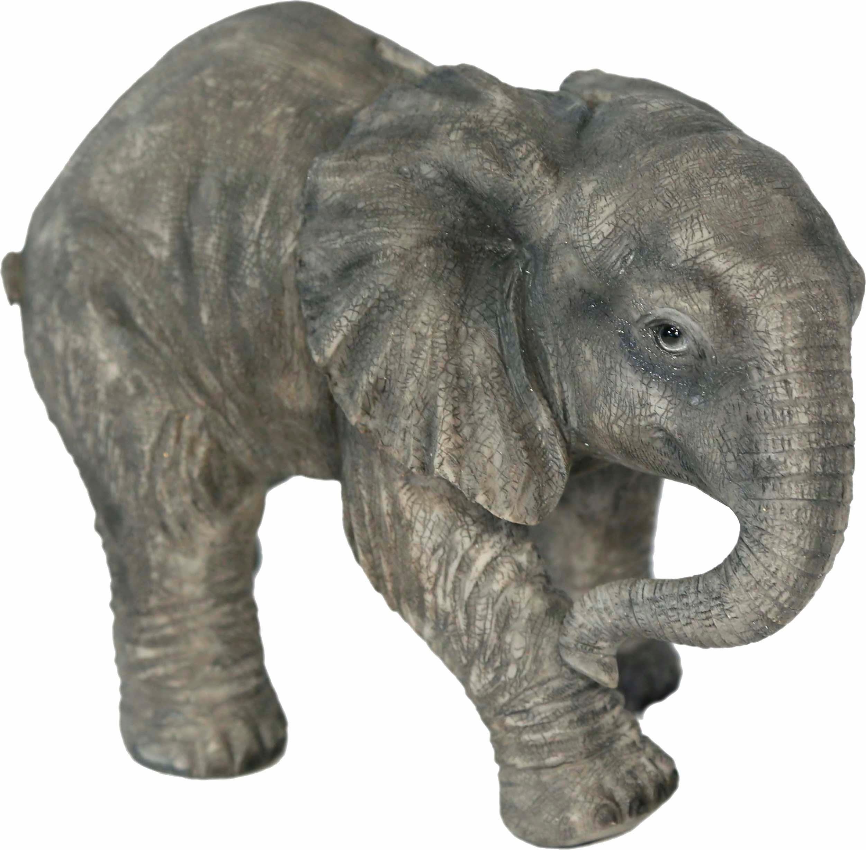 Home affaire spaarpot »Elefant laufend, Breite ca. 25cm , Höhe ca. 17cm« in de webshop van OTTO kopen