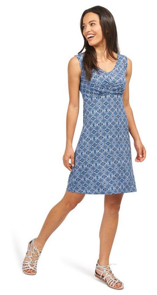 Tom Tailor jurk schickes jerseykleid blauw