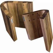 arte legno magnetisch messenblok curva (1-delig) bruin