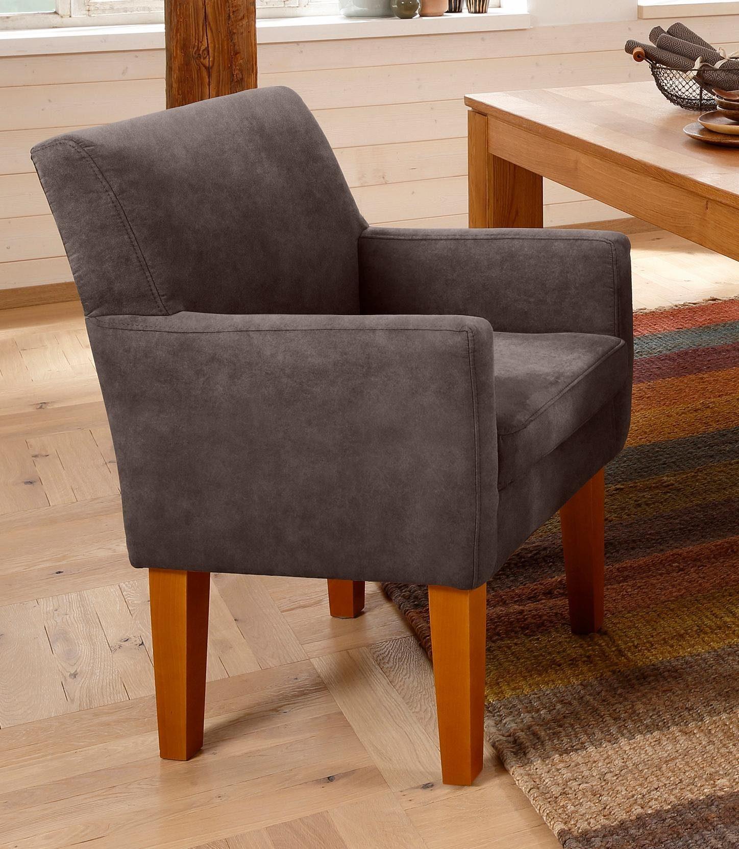 Home affaire fauteuil fehmarn« comfortabele zithoogte van cm