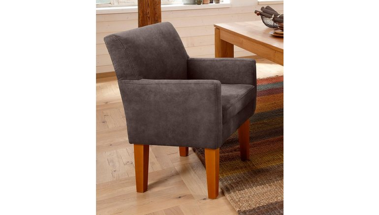 Home affaire fauteuil »fehmarn« comfortabele zithoogte van 54 cm