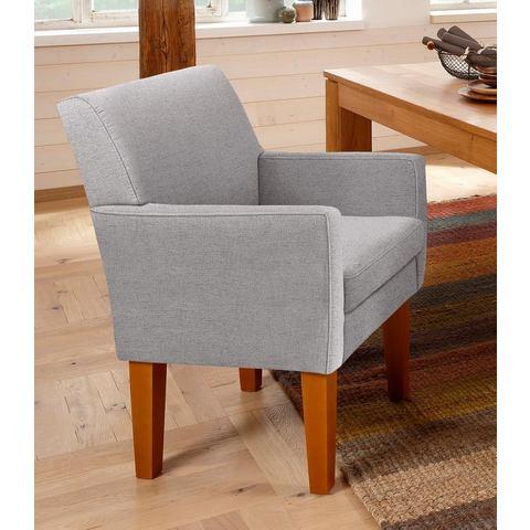 Home affaire fauteuil Fehmarn, comfortabele zithoogte van 54 cm, in 3 bekledingskwaliteiten