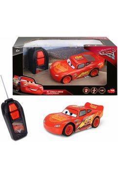 dickie toys radiografisch bestuurbare auto lightning mcqueen rood