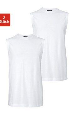 schiesser shirt voor eronder in eenvoudig design (set, 2 stuks, set van 2) wit