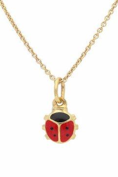 firetti ketting met hanger »lieveheersbeestje« rood